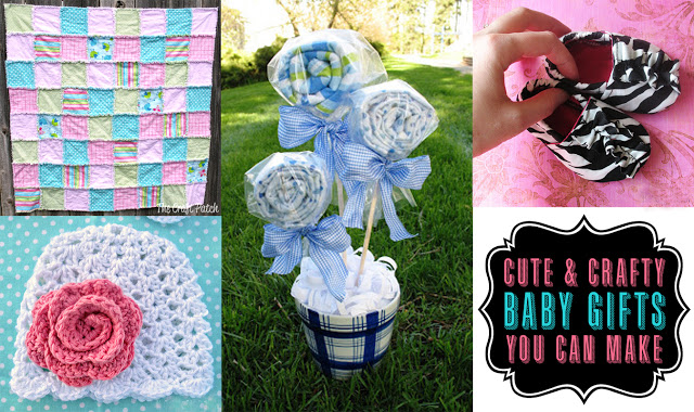 handmade baby shower gift ideas