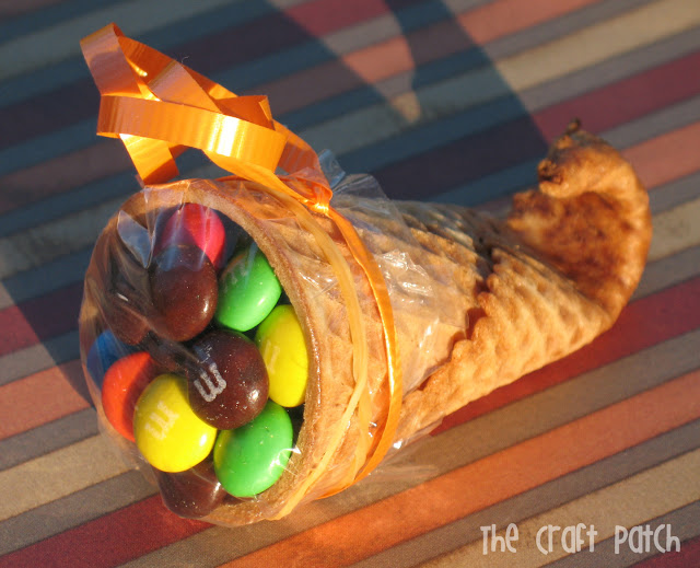 thanksgiving cornucopia treats