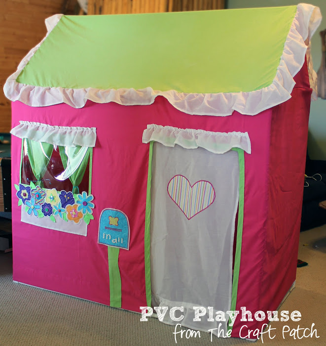 pvc pipe craft ideas pvc playhouses thecraftpatchblog 5302