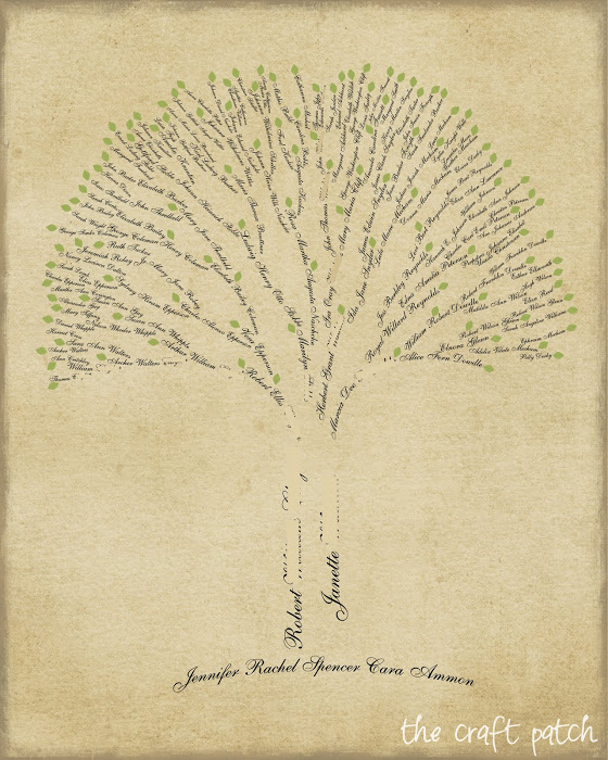 Family Tree Art Thecraftpatchblog Com