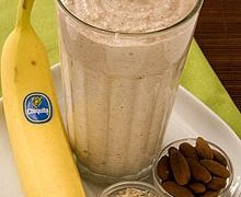 Banana Smoothies and Healthy Cookies