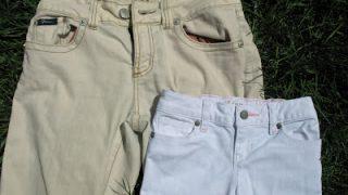 Bleach, Then Dye Jeans