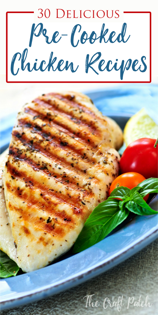 30 Leftover Chicken Recipes Thecraftpatchblog