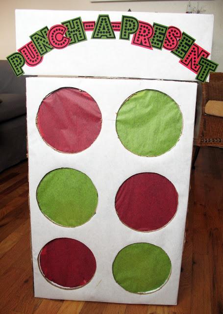 Punch A Present Gift Idea
