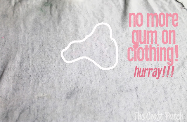 how do you remove gum from clothing