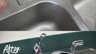 Stainless Steel Sink Cleaner