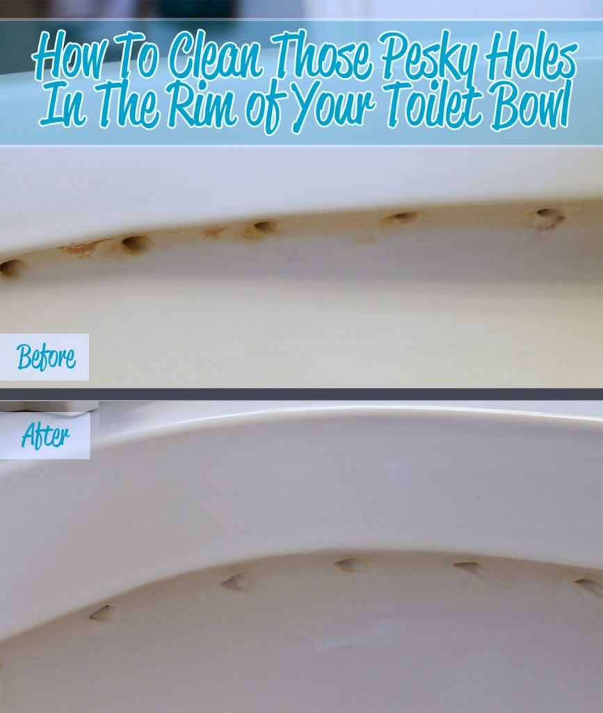 how to clean buildup in toilet