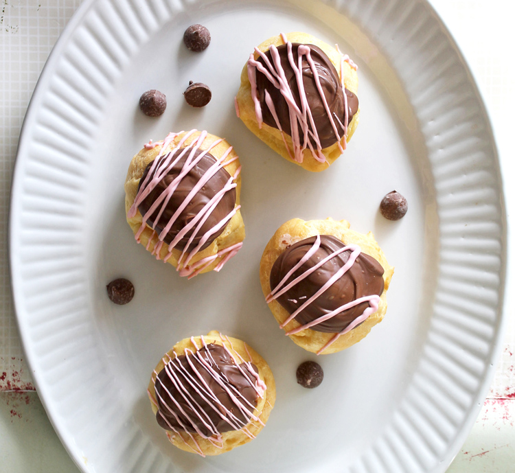 easy homemade cream puffs