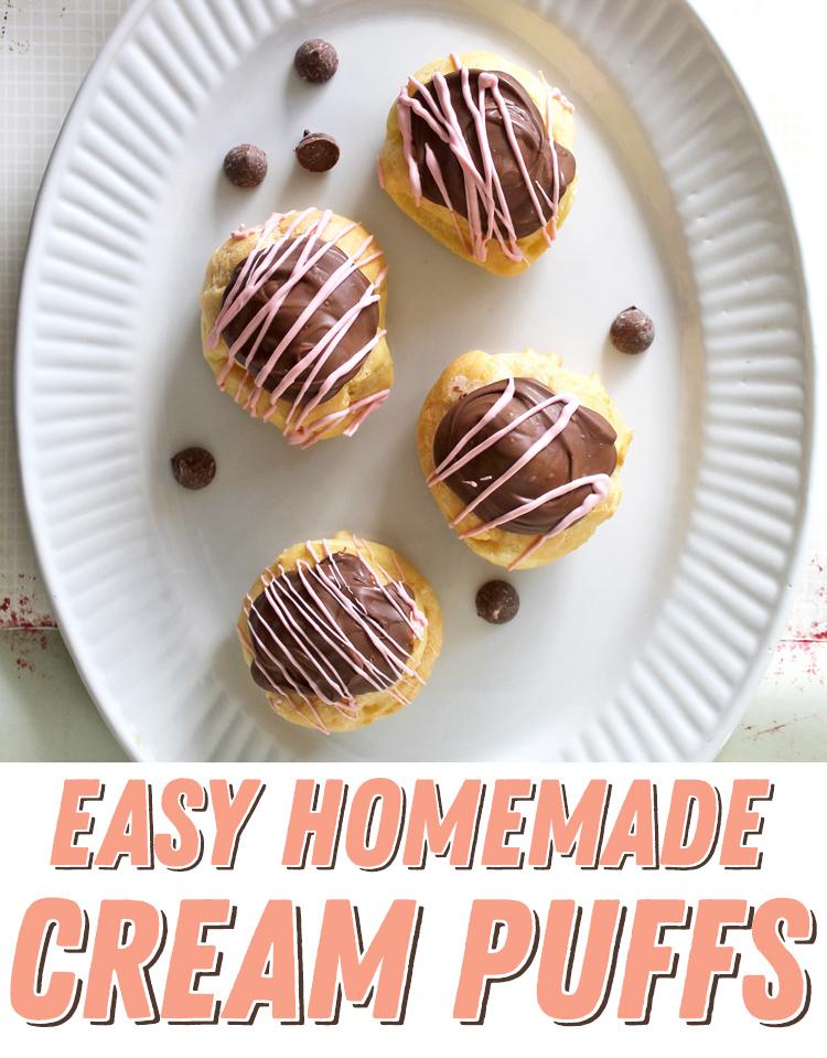 easy homemade cream puffs recipe