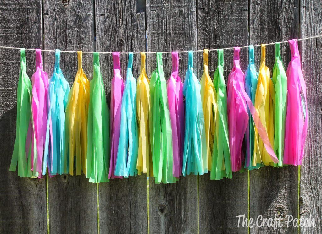Weatherproof Outdoor Tassel Garland The Craft Patch