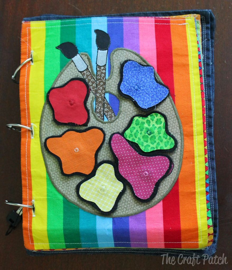 Craft Book Cover Page : Repost fabric quiet book thecraftpatch