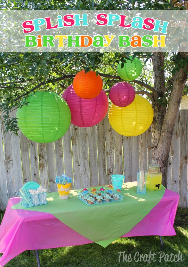 Splish Splash Birthday Bash Thecraftpatchblog Com