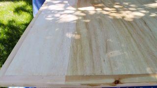 Vinegar/Steel Wool Wood Stain