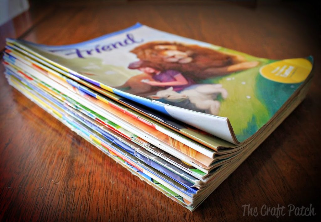 The easiest quiet book especially for mormons thecraftpatchblog if youre like me youve got a big fat stack of friend magazines that you cant bring yourself to throw out but dont know what to do with solutioingenieria Images