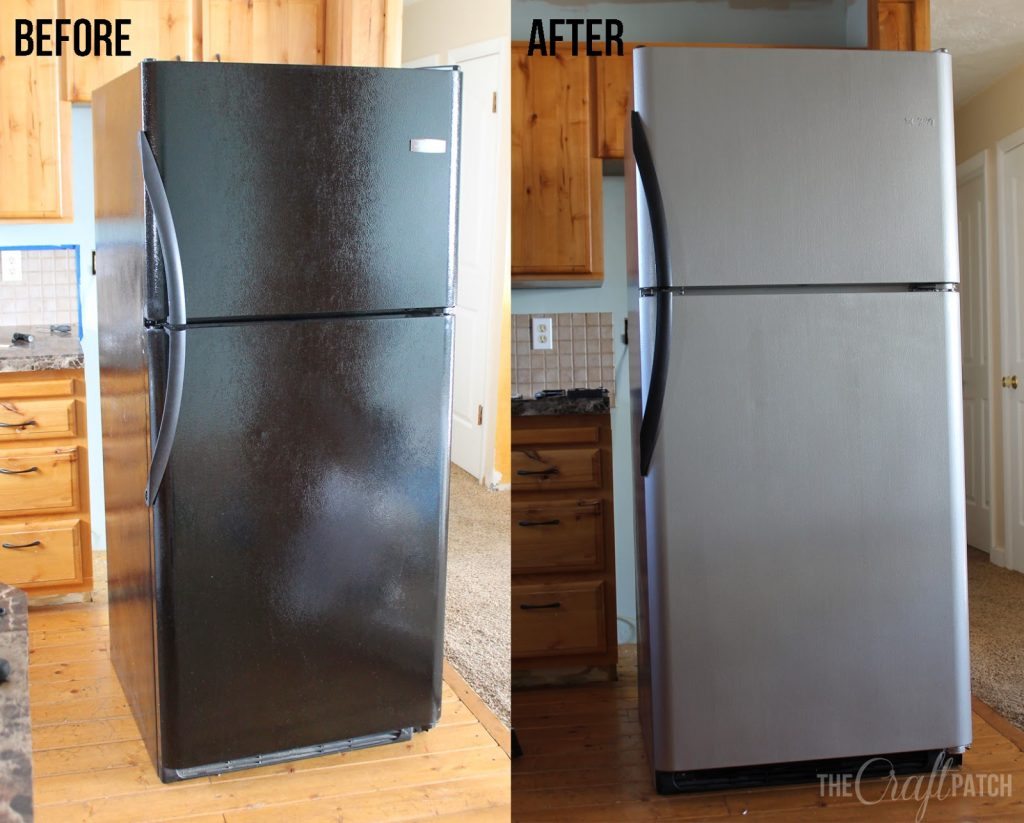 I Painted My Appliances Liquid Stainless Steel Review The Craft Patch