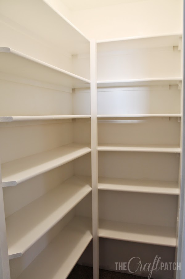 Top How to Build Pantry Shelving - thecraftpatchblog.com DV92