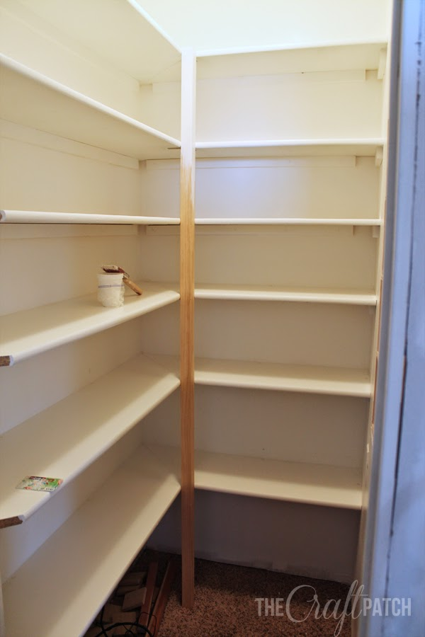 how to build pantry shelving thecraftpatchblog com rh thecraftpatchblog com how to build shelves in a pantry closet how to build shelves in a corner pantry