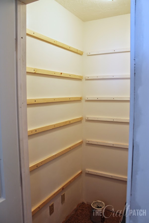 Best How to Build Pantry Shelving - thecraftpatchblog.com DJ04