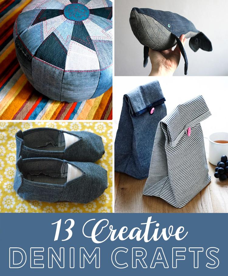 denim craft ideas