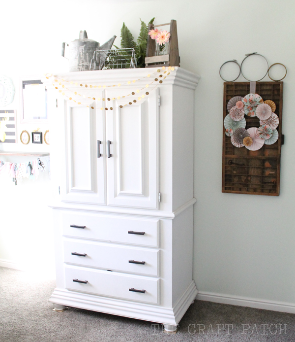 Fabric Storage Armoire