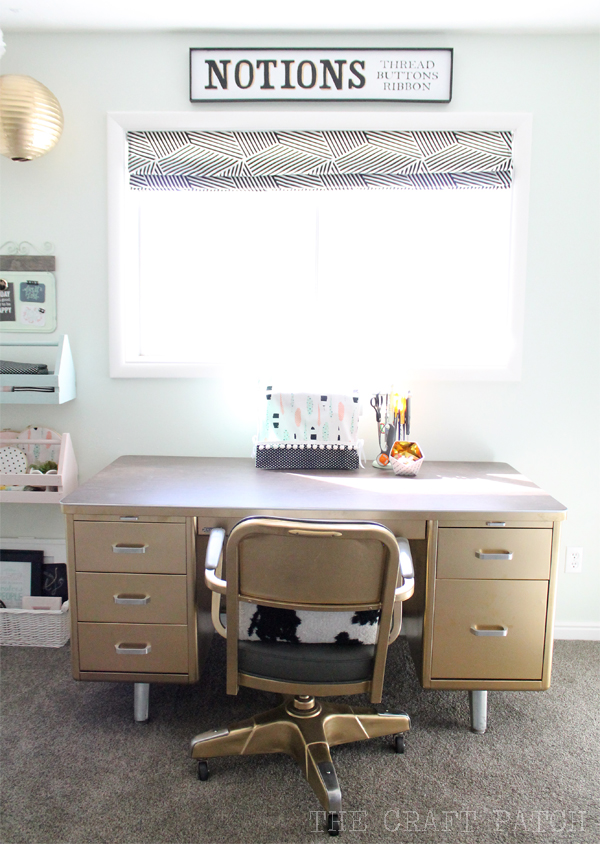 Gold Craft Desk