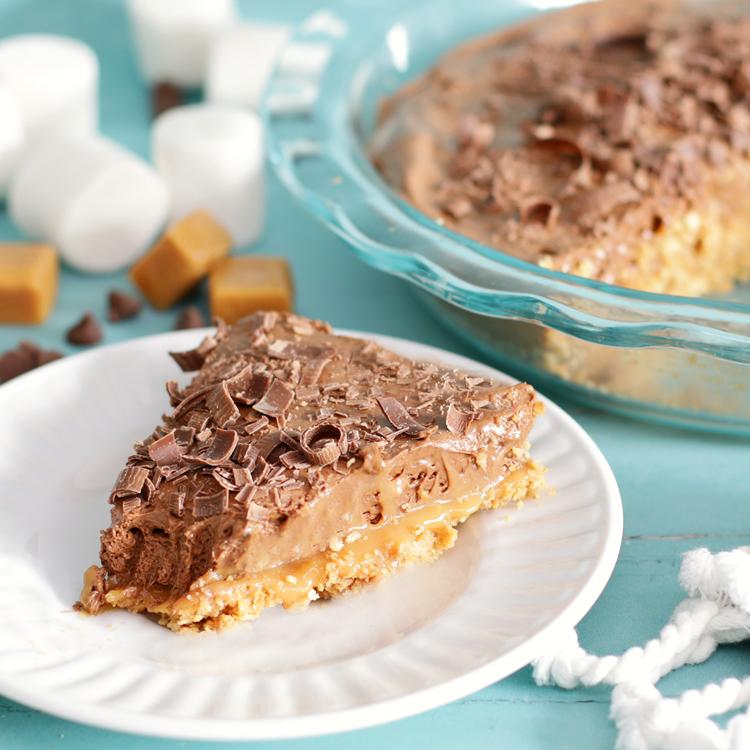 chocolate caramel pie recipe