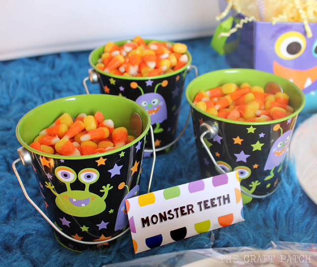 Candy Corn Monster Teeth