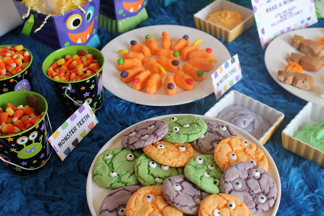 Monster Mash Party Spread
