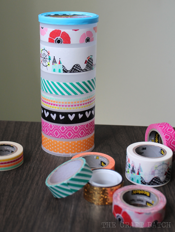 Washi Tape Craft Sunglasses Case