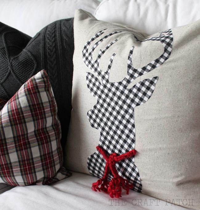 Diy Christmas Pillows Thecraftpatchblog Com