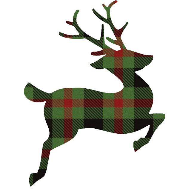 Plaid Deer Image