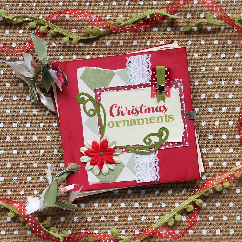 Christmas Ornament Scrapbook - The Craft Patch