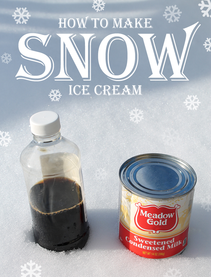 How to make ice cream from snow thecraftpatchblog how to make ice cream from snow ccuart Choice Image