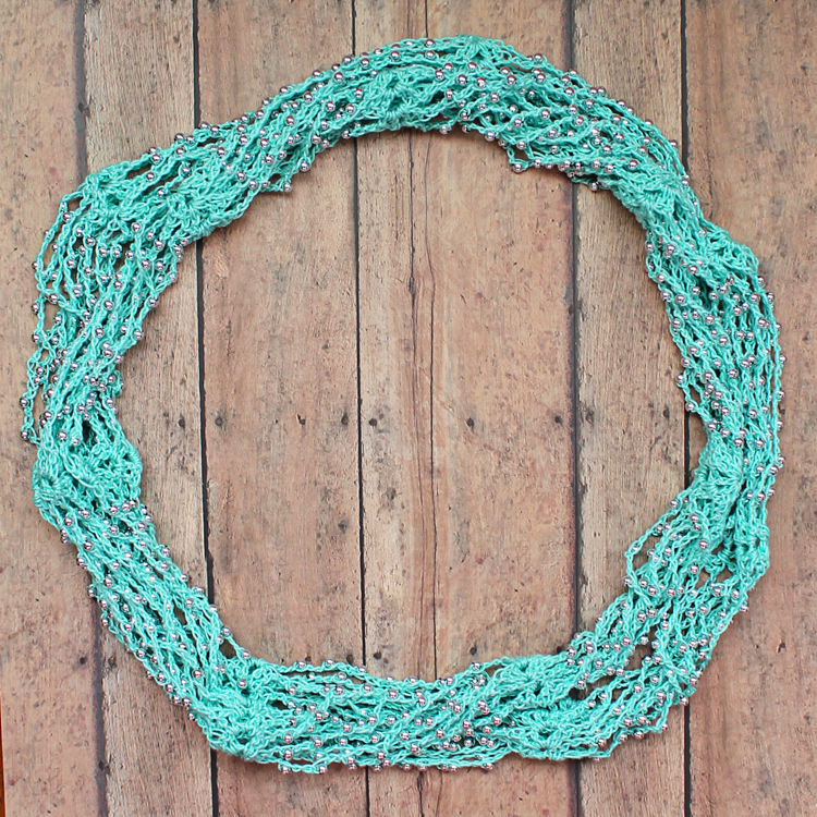 Beaded Crochet Wrap Necklace Video Tutorial Thecraftpatchblog