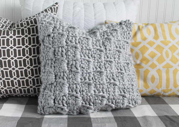 free crochet pillow pattern