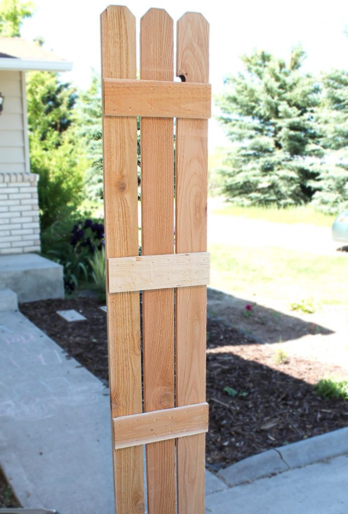 fence slat planter