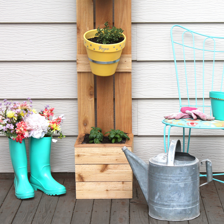 cute container gardens