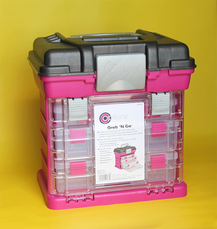 This organizer is perfect for more than just organizing craft supplies!