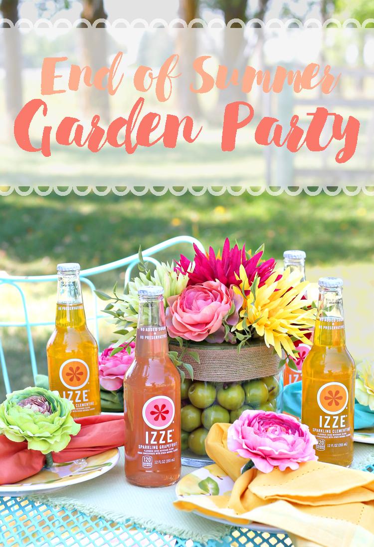 End Of Summer Garden Party Thecraftpatchblog Com