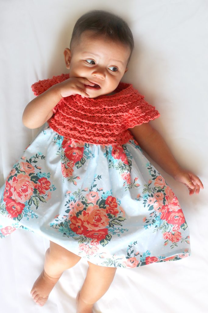 The Cutest Crochet Baby Dress You Ever Did See Thecraftpatchblog