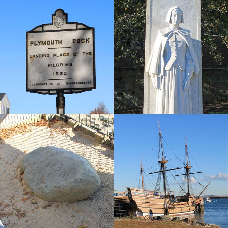 Visiting Plymouth Rock