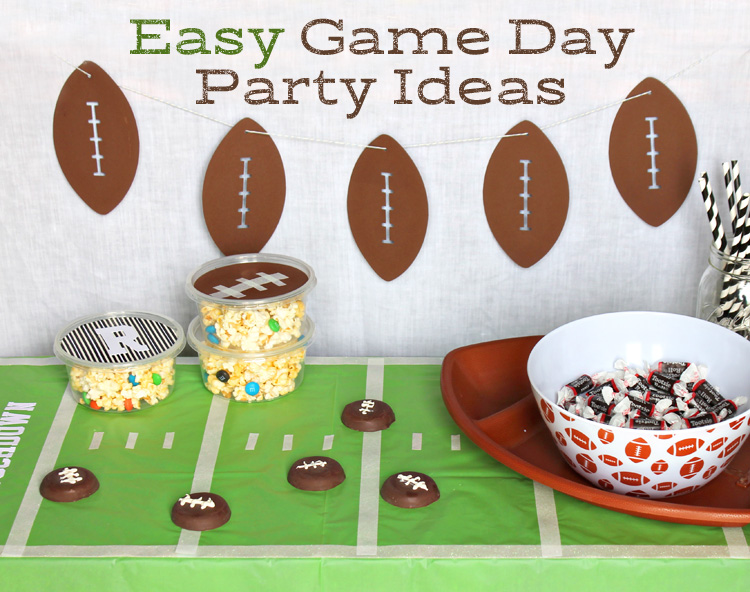 Easy Football Themed Party Decorations Thecraftpatchblog Com