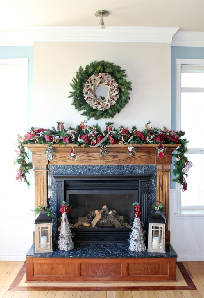 Christmas garland tutorial