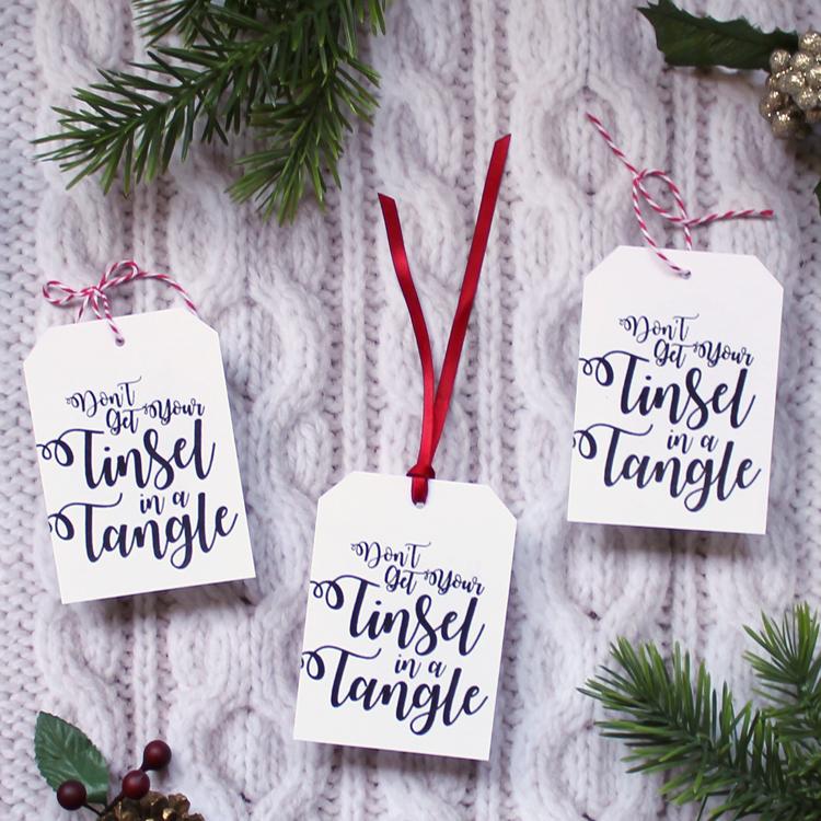 Monogrammed Hairbrush Christmas Gift Idea - thecraftpatchblog com