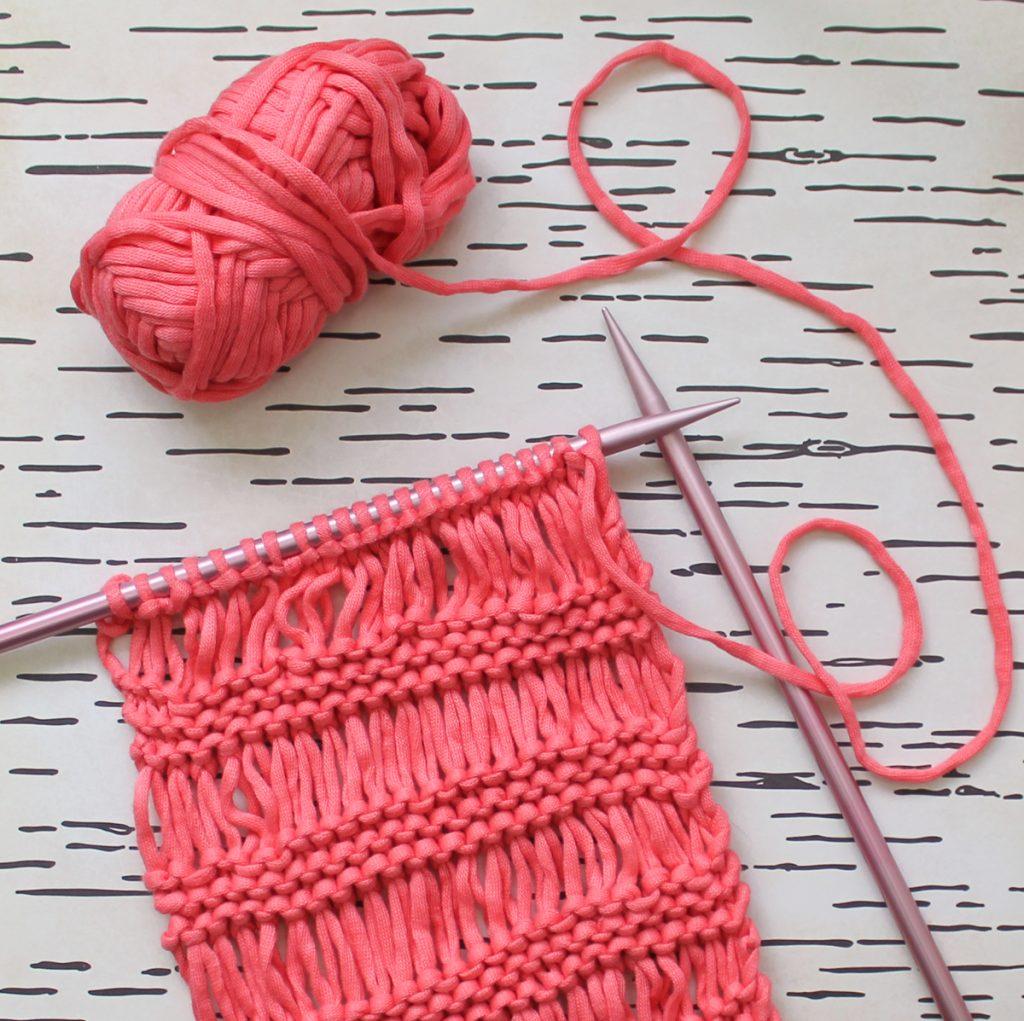 The Boho Scarf Free Knitting Pattern Thecraftpatchblog Com
