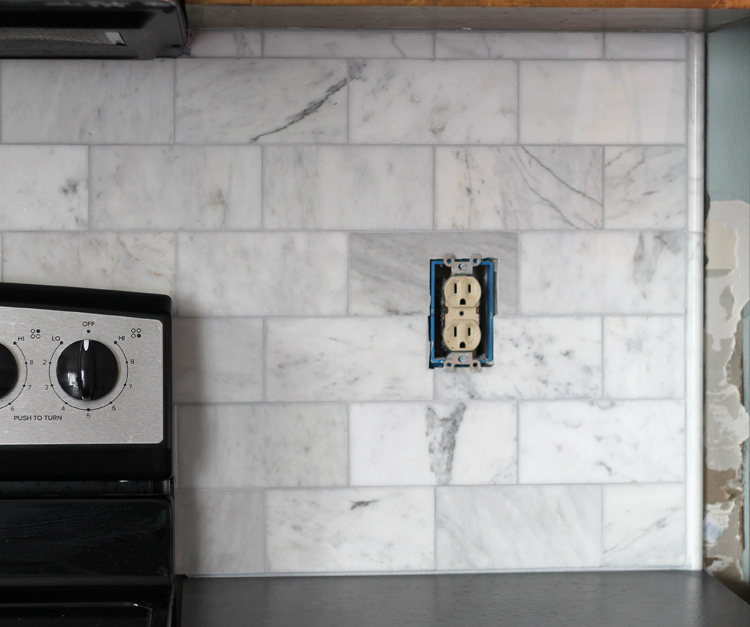 Brand new DIY Marble Subway Tile Backsplash: Tips, Tricks and What NOT To Do  QS08