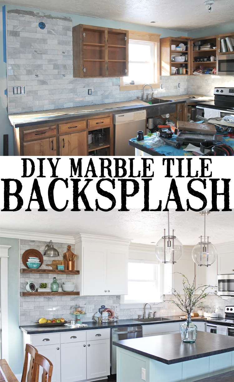 Diy Marble Subway Tile Backsplash Tips Tricks And What Not