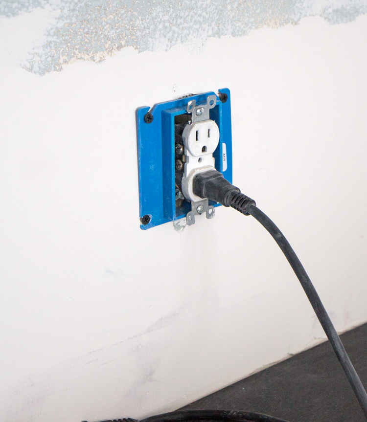 how to install outlet extenders for adding a backsplash to your kitchen