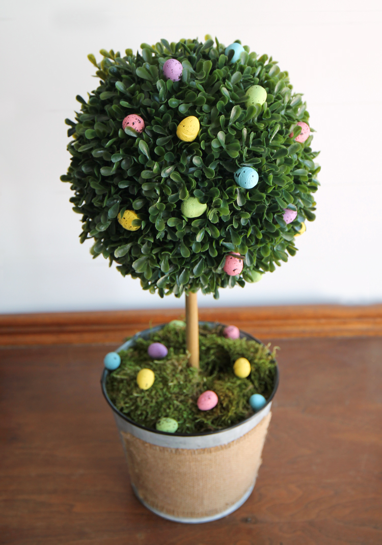Diy Boxwood Easter Egg Topiary The Craft Patch