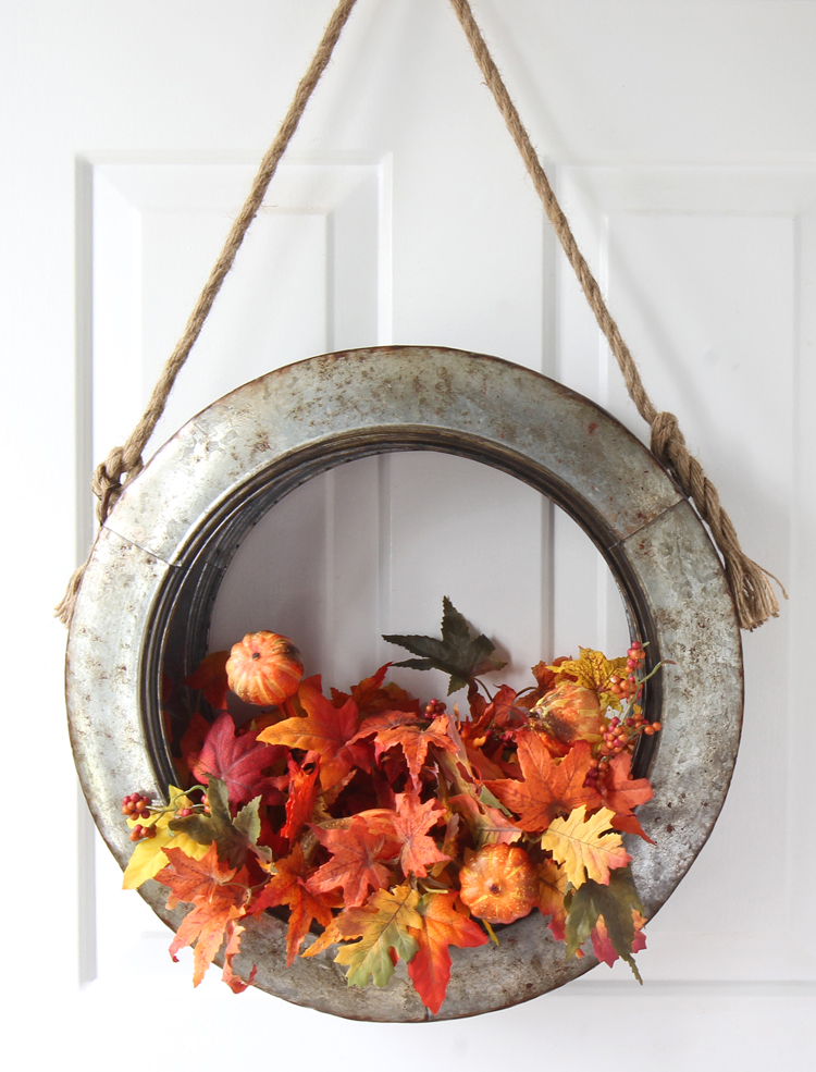 DIY Fall Wreath Idea